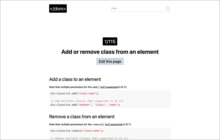 ¿Cómo gestionar el DOM HTML con puro JavaScript?