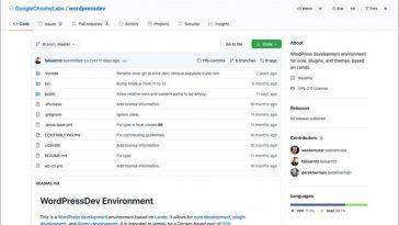 WordPress Lando Dev